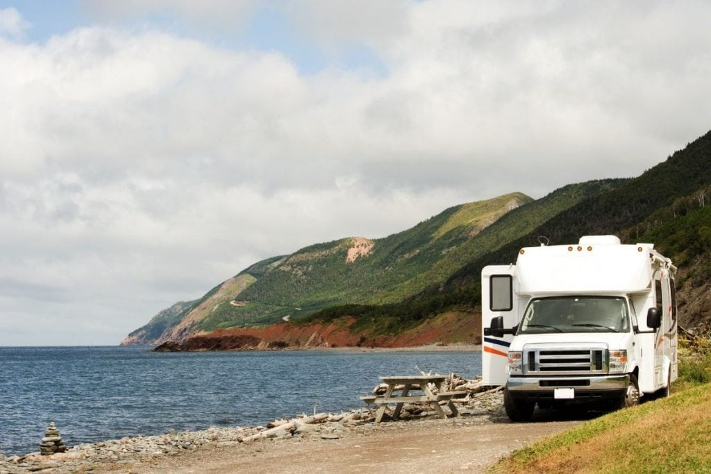 Beaches can be a great way to RV in Canada.