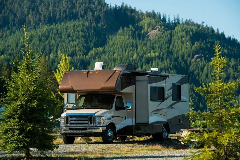 Renting an RV in Canada.