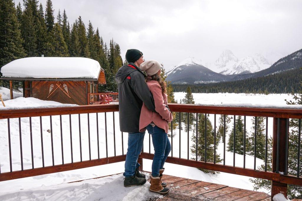 The Kananaskis is one of the best romantic getaways in Alberta.
