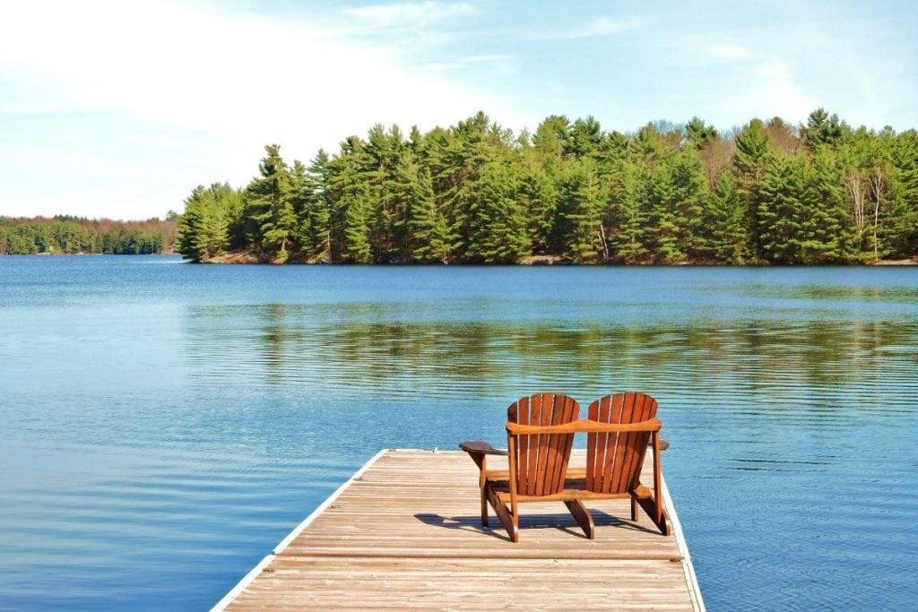 cabin rentals in Ontario on Muskoka Lakes.