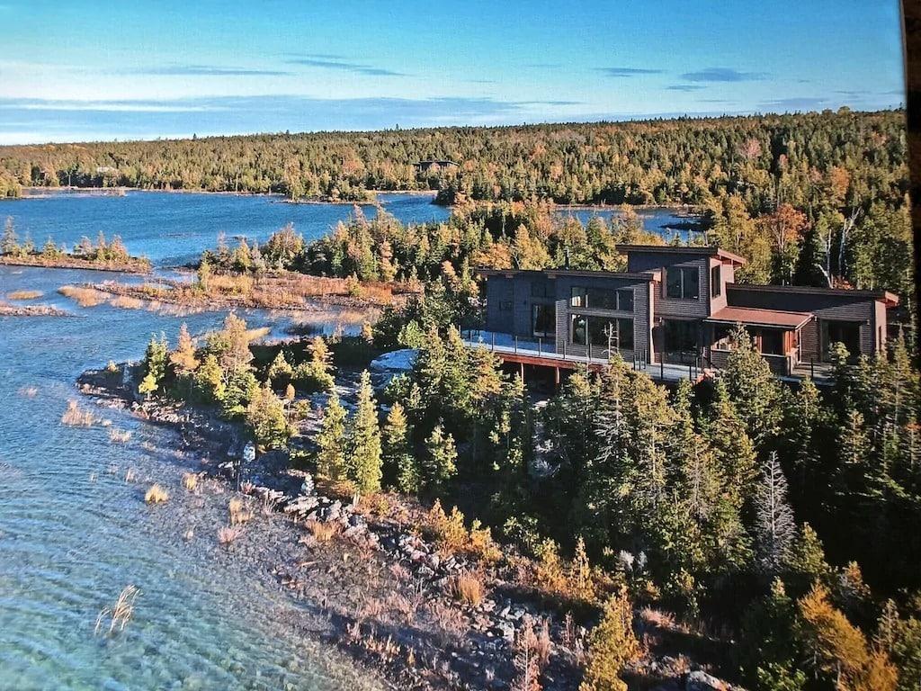 cabin rentals in Ontario on Lake Huron.