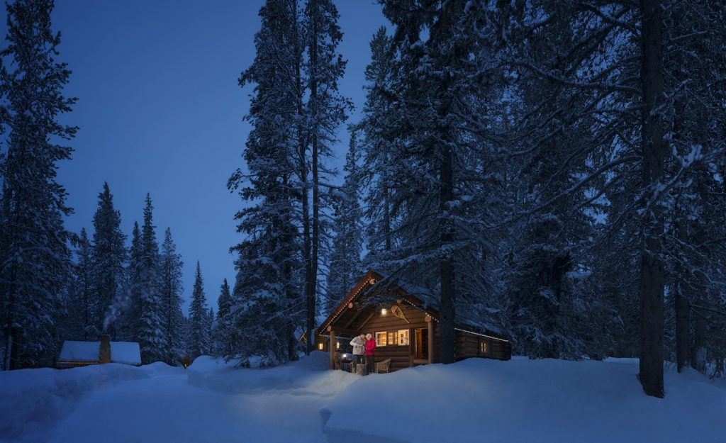 cool cabin rentals in alberta