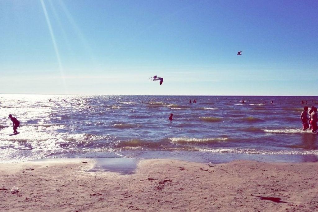 Wasaga Beach is a popular summer camping in Ontario destination.
