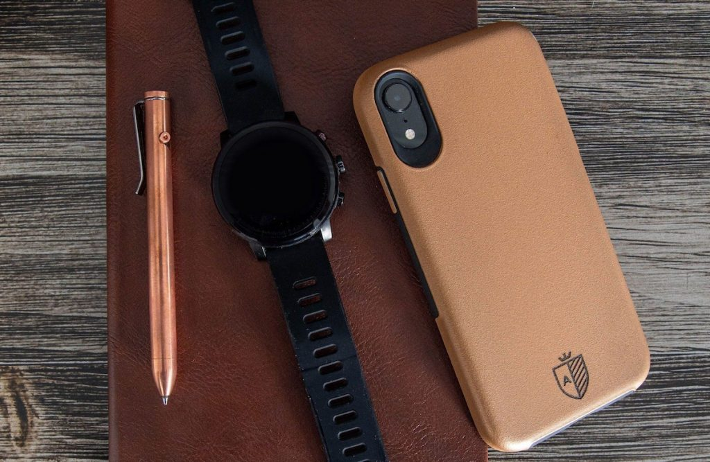 This copper iphone case is one of the best travel accessories in 2021.