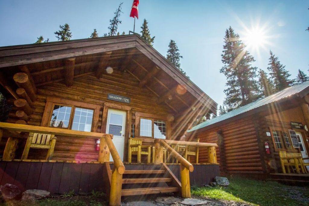 Banff cabins - Shadow Lake Lodge Backcountry Adventure.