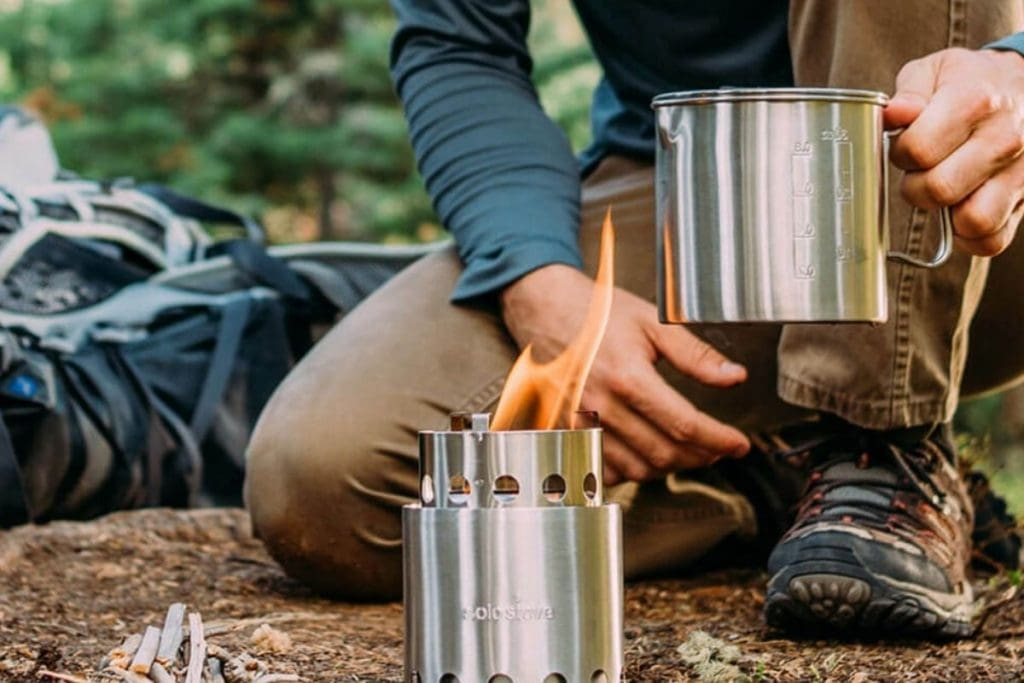 Top travel accessories for camping - solo stove