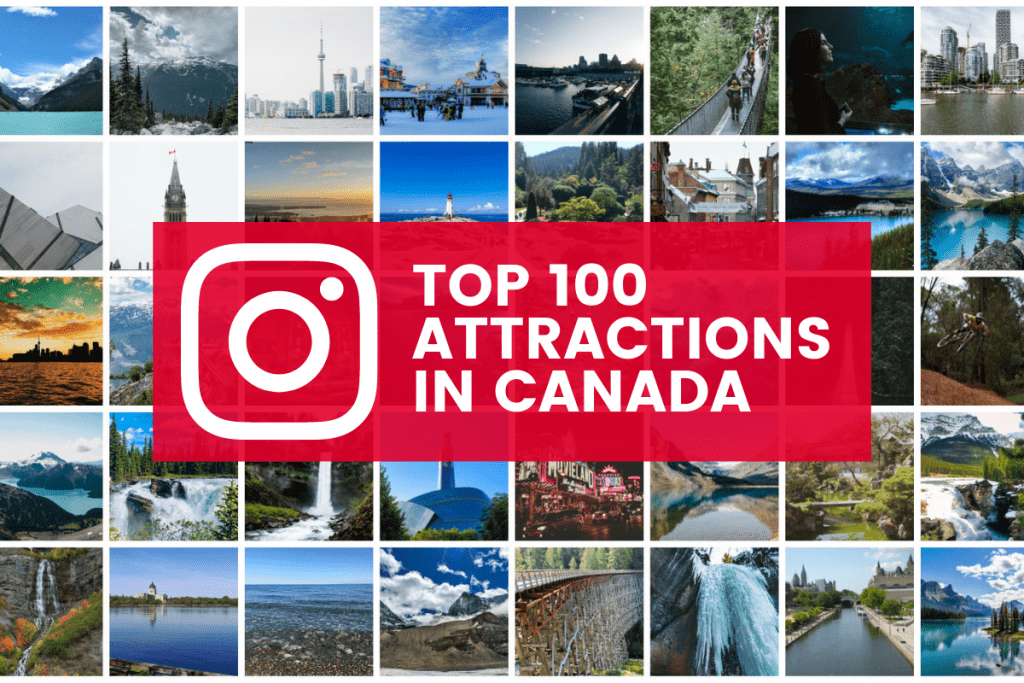 top attractions in canada