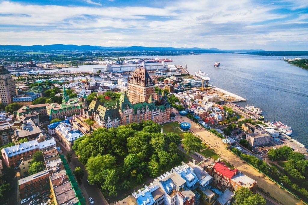 Quebec City is a great place to start or end a road trip in Quebec.