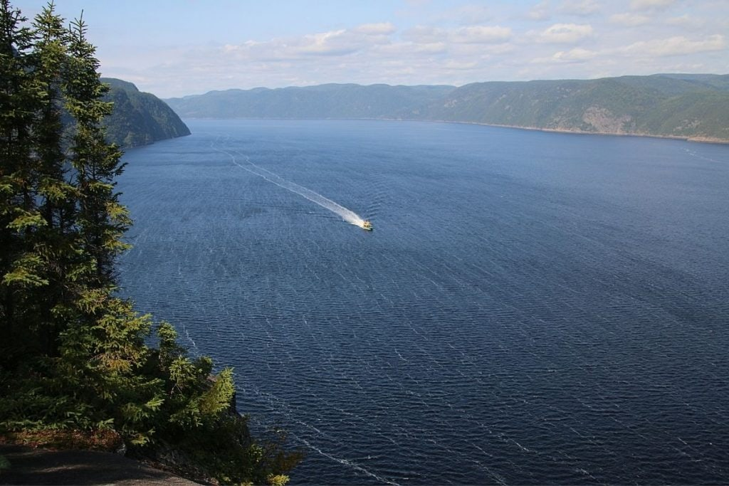 The Fjords of Quebec make for some incredibly scenic Quebec road trips.