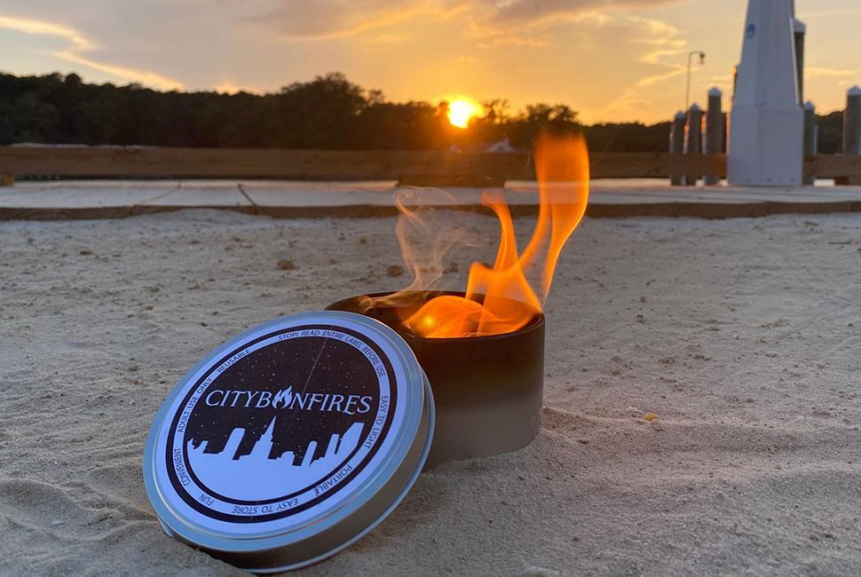 city bonfire portable campfire is one of our top travel accessories for those in a city.