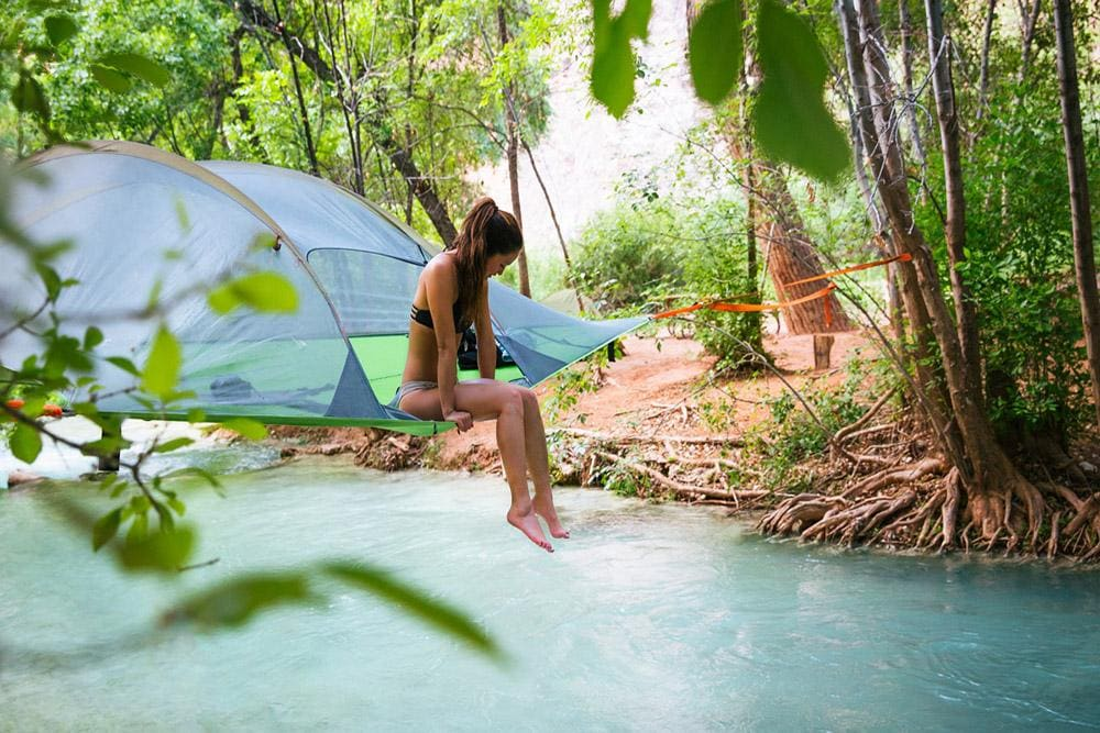 The Tentsile tree tent is one of the best travel accessories for camping and outdoor adventure.