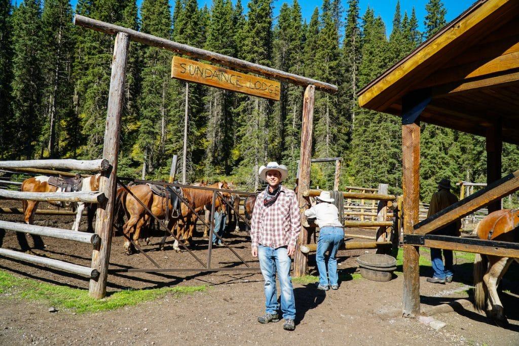 Banff horseback rides in the backcountry.