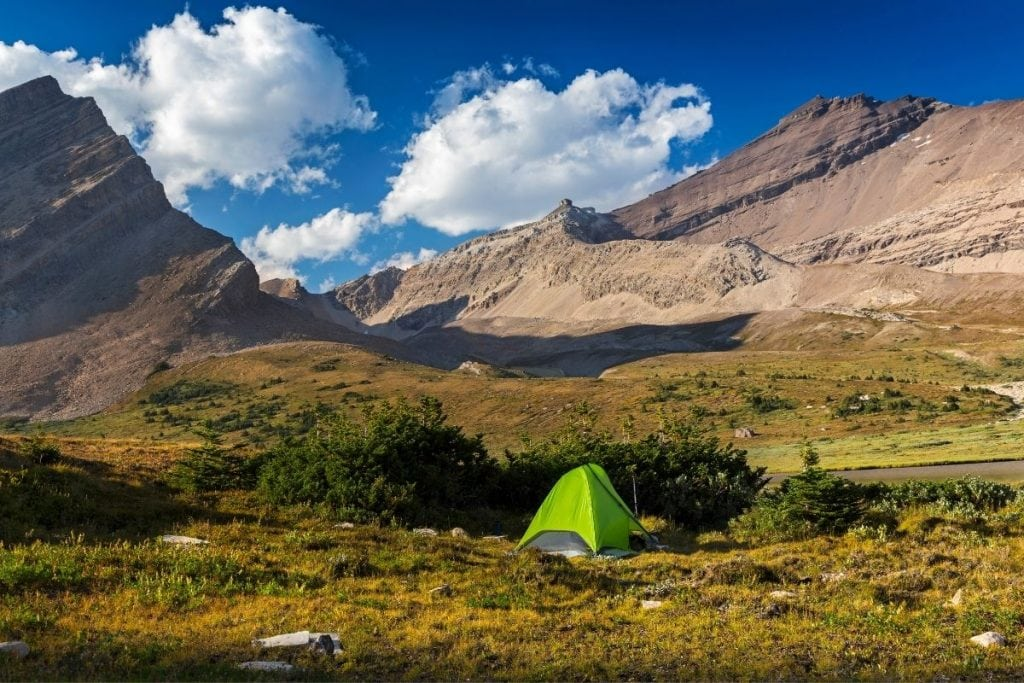 Best Canada national parks for backcountry camping.