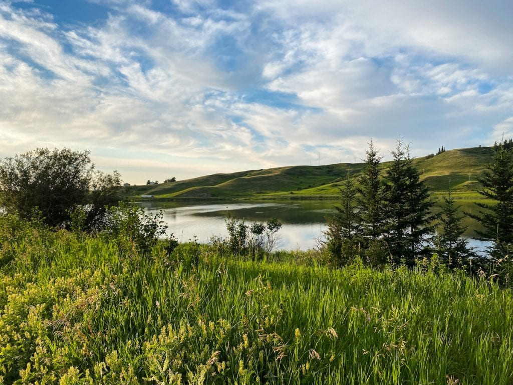 Elkwater Lake is one of the top things to do in Cypress Hills Alberta.