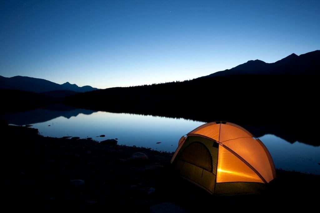 best Canada national parks for camping.
