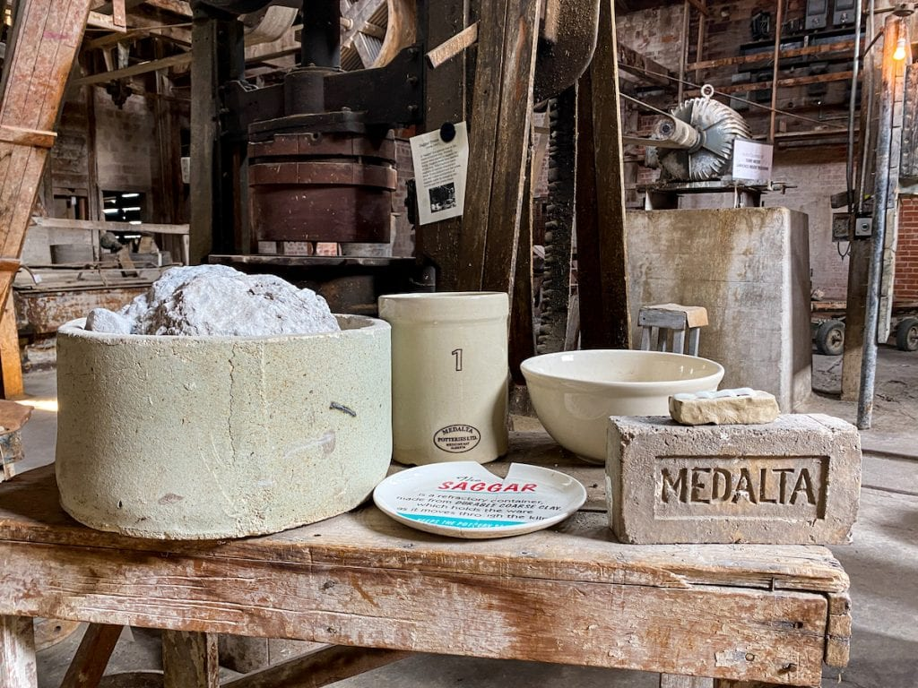Medalta once produced 75% of Canada's pottery needs.