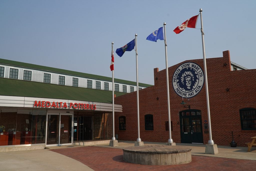 Medalta is one of the most popular things to do in Medicine Hat.