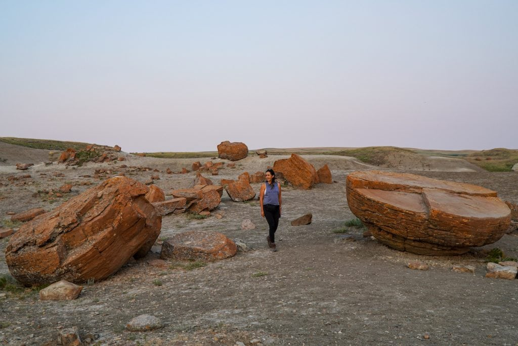 Red Rock Coulee.