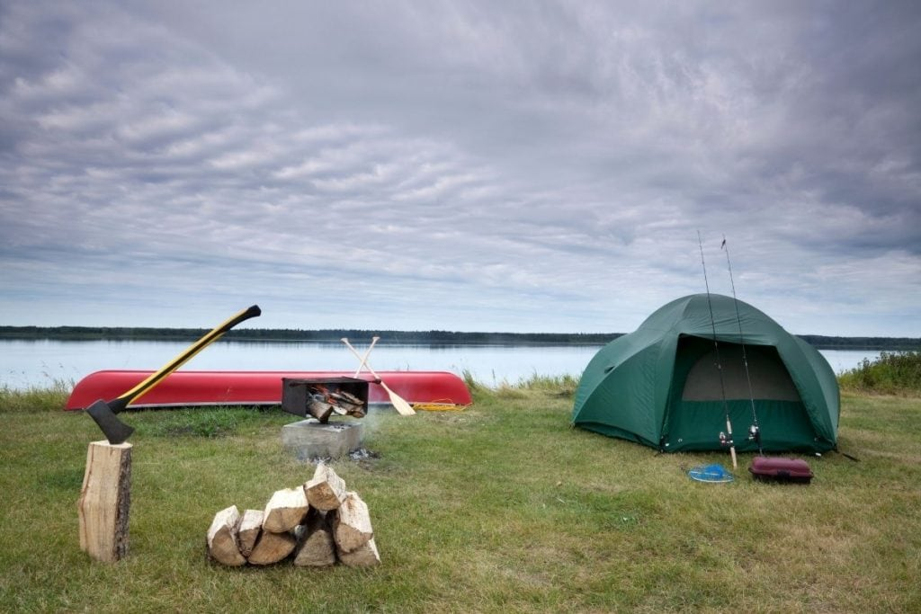 Camping in Canada National Parks.
