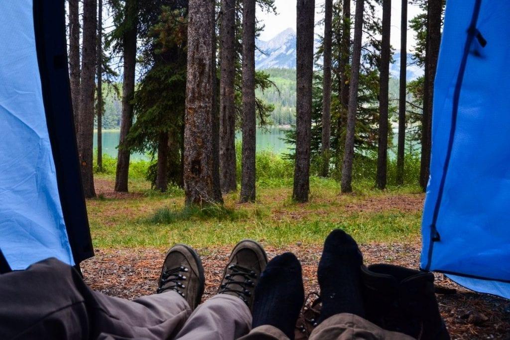 campsites in alberta