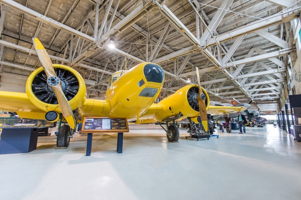 The Alberta Aviation Museum is one of the top Edmonton museums for aviation fanatics.