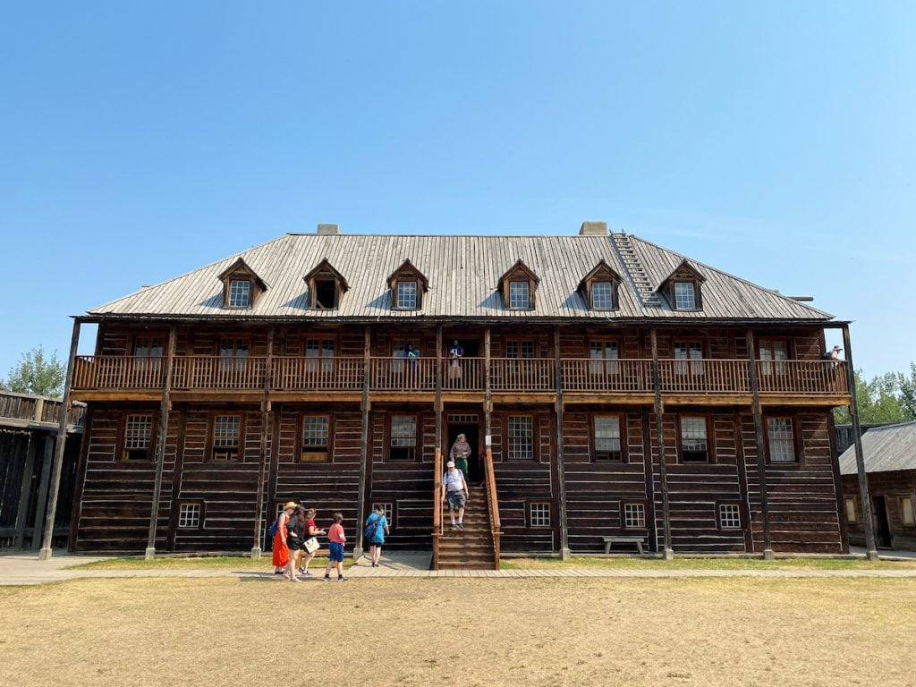 Fort Edmonton Park is one of the top Edmonton museums that feature costumed interpreters and so much more.