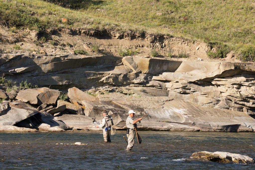 river fishing in alberta