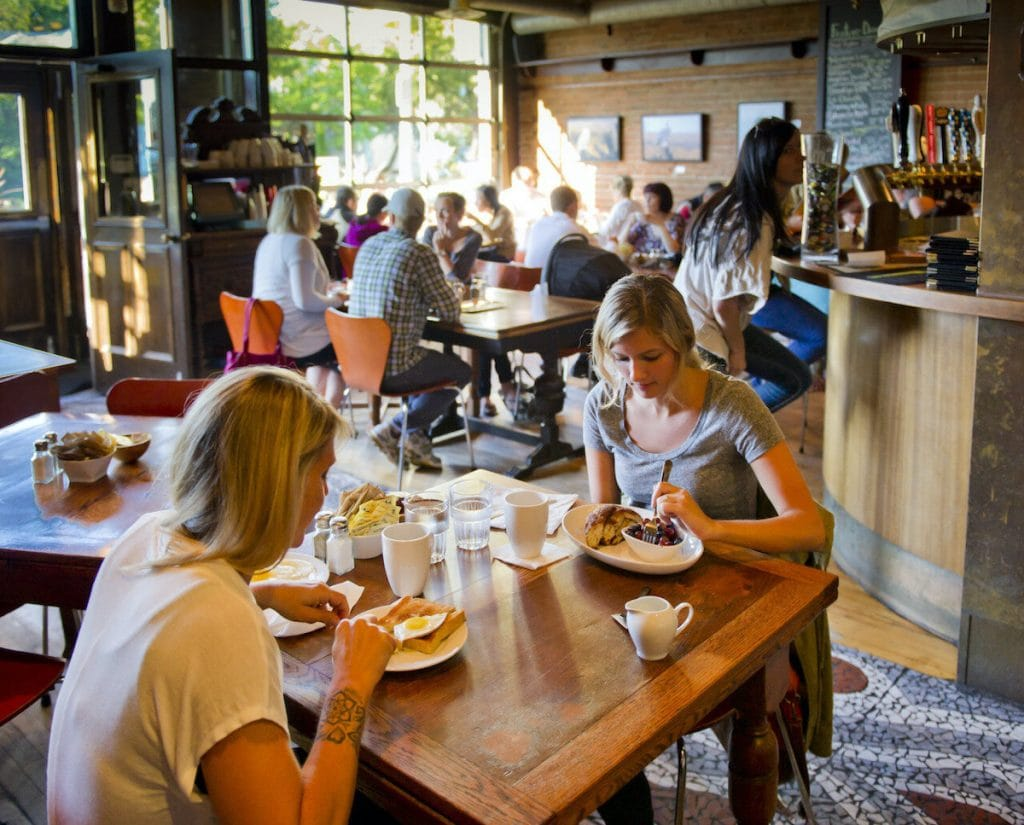 Sugarbowl is one of the most highly ranked restaurants in Edmonton.