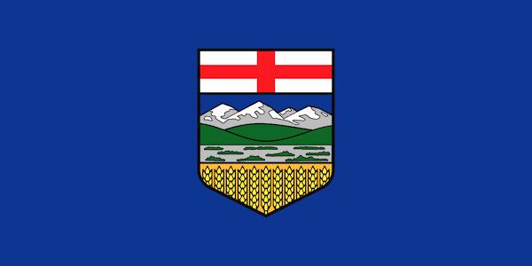 Alberta Provincial Flags of Canada