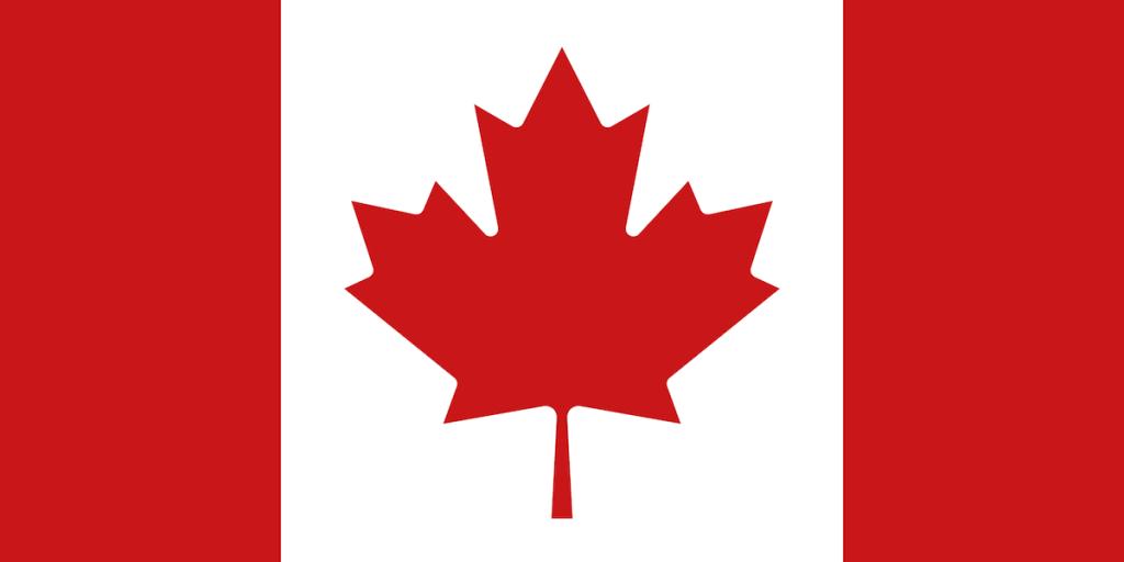 The Canada Flag.