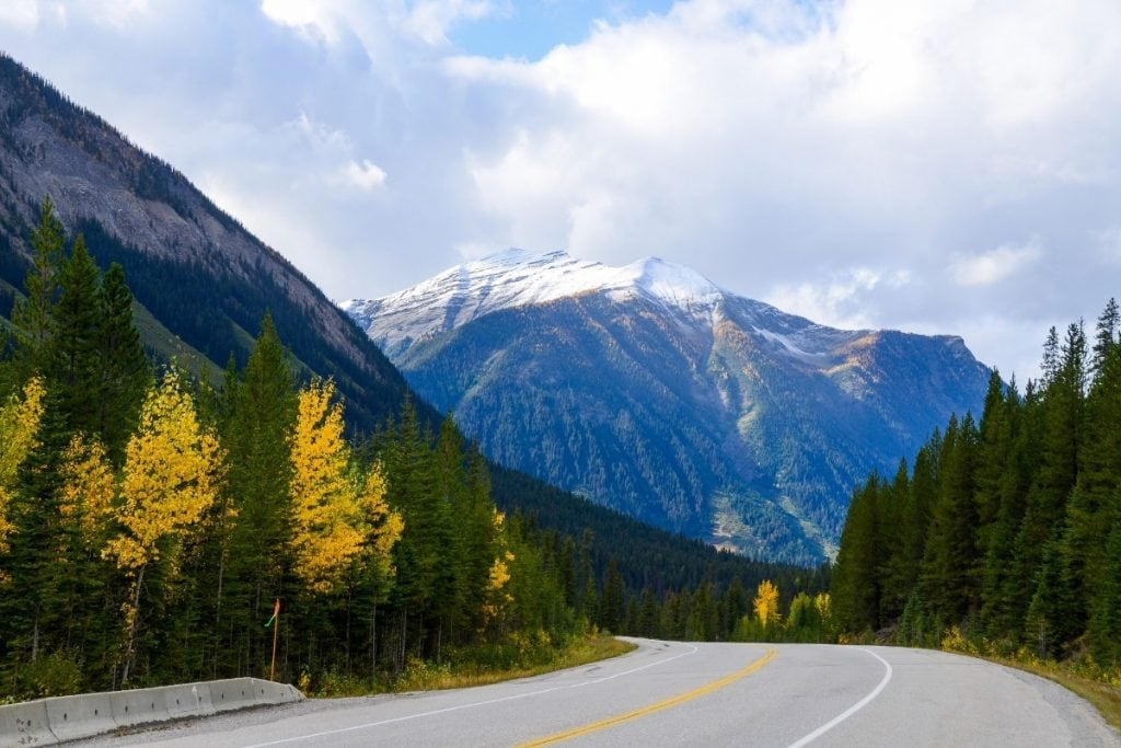 The Kananaskis is a great place to see the Fall in Canada.