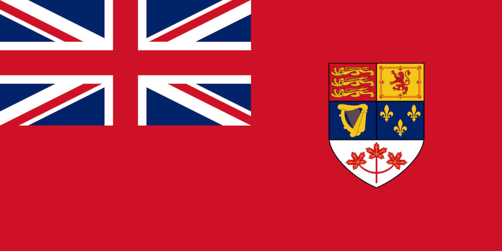 The Canadian Flag before 1968/