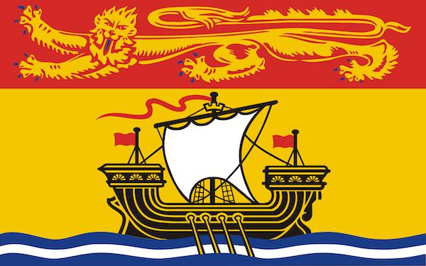 New Brunswick: Provincial Canada Flags