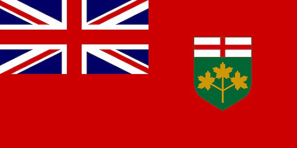 Ontario: Provincial Flags of Canada